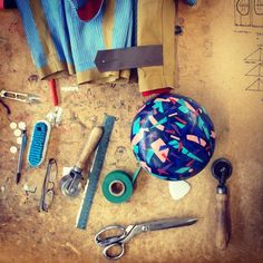 Instagram media by mackintoshofficial - Tricks of the trade! Bobby's tools to make the @thisisbandofoutsiders AW14 collaboration coats. #mackintosh #madeintheuk #craftsmanship #handmade #bandofoutsiders