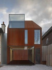 Cor-Ten House in Putney on Architizer