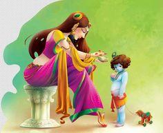Lord Krishna on Pantone Canvas Gallery