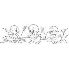 Pattern Detail | Three Little Ducklings | Needlecrafter