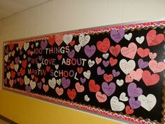 February Bulletin Boards | Valentine's Day is always a fun day in elementary schools! The ...