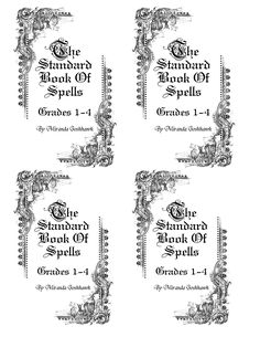 The Standard Book of Spells: (Printable) Harry Potter #