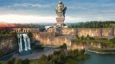 Patung Garuda Wisnu Kencana Tertinggi di Dunia Kalahkan Patung Liberty