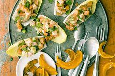 Fitness Food #4: Lachs-Ceviche mit Papaya und Kürbischips