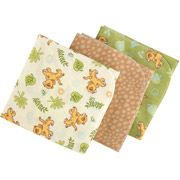 Disney - Baby Bedding Lion King Simba Flannel Blanket, 3pc
