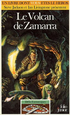 Défis Fantastiques 39- Le volcan de Zamarra