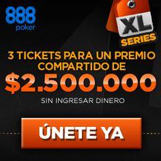 888poker lanza la Super XL Series con u$s 2.500.000 de premio