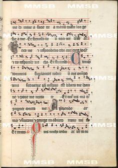 Antiphonarium Cisterciense. - Antiphon Queen Elizabeth Richensa. Date 1317 Sig: R 600 Folio 169r