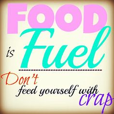 Food is Fuel. Fitness Inspiration