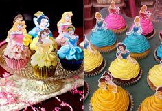 Basics of Princess Birthday Decorations - Best Online Resources Princess Birthday Party Decorations, Disney Princess Birthday, Moana Birthday, Barbie Birthday, Balloon Decorations Party, Birthday Parties, 4th Birthday, Cupcake Party, Birthday Cupcakes
