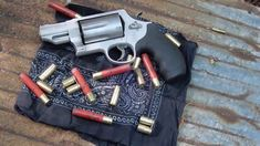 Target shooting my Smith and Wesson Governor. Caliber - 2 shot shells long colt acp (with moon clips) Capacity 6 rounds Barrel Length Smith And Wesson Revolvers, Smith N Wesson, Smith And Wesson Governor, Car Lifter, Colt 45, 45 Acp, Shotgun, Will Smith, Firearms