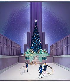 Vitrine da Tiffany & Co faz ode a Nova York há mais de 60 anos