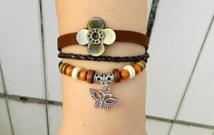 Metal Dragonfly  Adjustable braceletantique silver by goodlucky, $6.90
