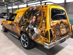 Big Trucks, Chevy Trucks, Holden Australia, Gal Gardot, Aussie Muscle Cars, Van Car, Australian Cars, Panel Truck, Ford Falcon