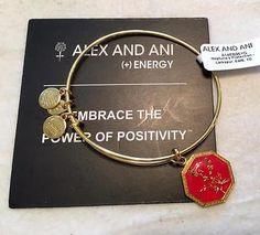 ALEX & ANI LARKSPUR NEPTUNE'S PROTECTION CHARM BANGLE BRACELET NWT BOX RTL $38 - http://designerjewelrygalleria.com/alex-ani/alex-ani-larkspur-neptunes-protection-charm-bangle-bracelet-nwt-box-rtl-38/