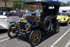 1912 Ford Model T Touring - navy blue