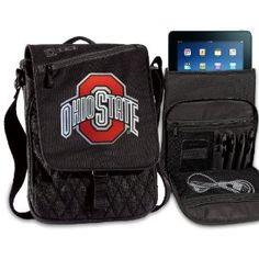 OSU Buckeyes IPAD BAGS TABLET CASES Ohio State College Logo Holders Tablets, E-readers Netbooks Ipads, Ipad 2, Kindle, Nook (Electronics)