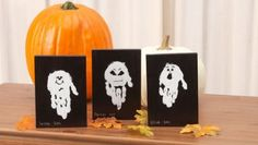 The kids will have  so much fun making these cute Halloween Hand and Footprint Art ideas! They'll look fantastic decorating your party and will make a gorgeous gift too!  Halloween Footprint Art Tutorial via 'Love Sweet Love' Halloween Footprint Art Tutorial from 'Love Sweet Love' Handprint Ghosts Tutorial via 'Project Balancing Act' Halloween Handprint Art Tutorial via 'Modern Day Moms' Halloween Footprint …