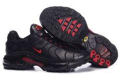 Nike Air Max Tn Mens Black Red