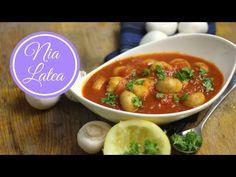 Ciuperci în sos de roşii I Champignons in Tomatensauce I rumänische Beilage I Thermomix TM5 (vegan) - YouTube