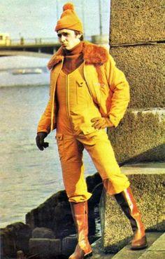 модель из Ленинградской моды № 3 (1977)