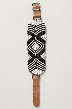 Beaded Buckle Bracelet #AnthroFave