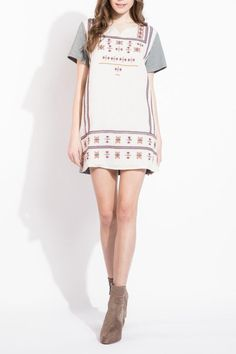 657c52b4c92 Shoptiques Product  Embroidered Shift Dress - main Casual Looks