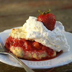 This sweet yet hearty Old Fashioned Strawberry Shortcake recipe will remind you of Grandma on the farm. Spoil your family with this sweet strawberry treat!