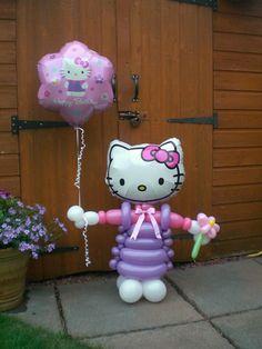 Hello kitty twits balloon