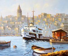 VAPURDA YOLCULUK Sanatçı :   Mustafa ELDENİZ