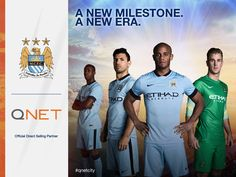 A new milestone. A new era. A new era of #QNET with Manchester City. #QNETCITY