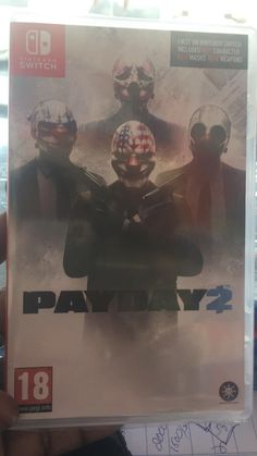 Payday 2 arrived early  will try the game for any question please ask and i will try to answer http://bit.ly/2lnzap3 #nintendo