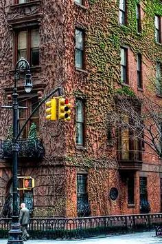 Irving Place, Gramercy Park. The 9 Most Beautiful Streets in New York City via @PureWow