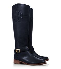navy riding boots. #swoon