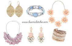 Light Spring Coloured accessories. You are best wearing light gold, but can do silver as well.