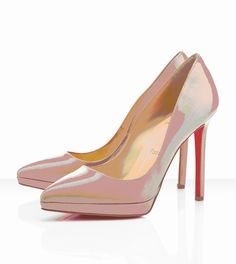 Christian Louboutin Pigalle Plato 120mm Nude