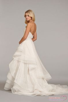 Hayley Paige - Sweetheart A-Line Gown in Silk Crepe  69e0fa336