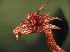 Dragon Draco or Jabberwocky Figure Mythical Beast Taxidermy Draco, Taxidermy, Altered Art, Beast, Sculptures, Animals, Dragonair, Animaux, Sculpture