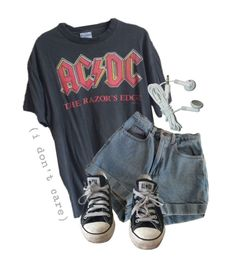 """Untitled #387"" by saltyshores ❤ liked on Polyvore featuring American Apparel and Converse"