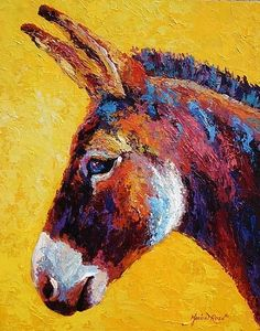 Red Jenny by Marion Rose Acrylic ~ 20 x 16