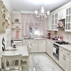 Achieve These Romantic Kitchen Looks for a Perfect Day - Valentine is around the corner. Newly-weds and retired couples are bound to look at these romantic kitchen ideas. Kitchen Cupboard Designs, Kitchen Room Design, Rustic Kitchen Design, Kitchen Cupboards, Home Decor Kitchen, Kitchen Interior, Kitchen Ideas, Kitchen Decorations, Romantic Kitchen