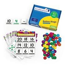 Excellerations® Numbers and Counting Button Bingo