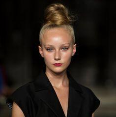 Lipstick and Loudmouths: Catwalk Hair: Demure vs. Debonair