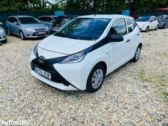 Second hand Toyota Aygo - 4 989 EUR, 86 231 km, 2016 - autovit. Toyota Aygo, Fiat 500, Ford Focus, Abs, Vehicles, Crunches, Abdominal Muscles, Car, Killer Abs