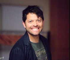 Misha. You can't not smile back.