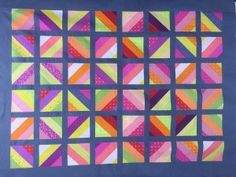 Free: Warm Jelly Roll Quilt Tutorial from Janome.