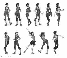 I like this drawing style. My characters need energy and 'character' in their poses and body types Character Design Challenge, Character Design Cartoon, Character Sketches, Character Design References, Character Drawing, Character Concept, Comics Illustration, Illustration Vector, Illustrations