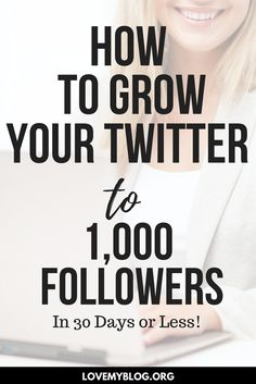 How to Grow Twitter