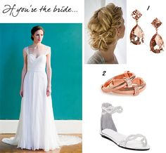BaubleBar: Beach Wedding Style