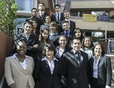 Cal State L.A.'s political science team who was recently presented an Outstanding Delegation award and five additional honors at the annual National Model United Nations conference in New York.